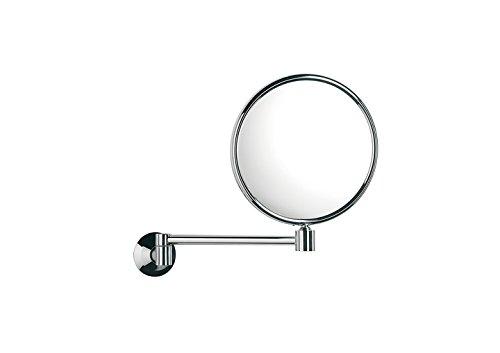 Roca A815486001 Espejo de aumento doble cara de pared, Cromado
