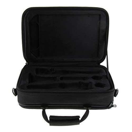 Shiwaki Klarinette Tasche Rucksack Gig Bag, Wasserdicht, Schaumstoffpolsterung, Verstellbarer Schulterriemen, Ca. 355 x 237 x 114 mm