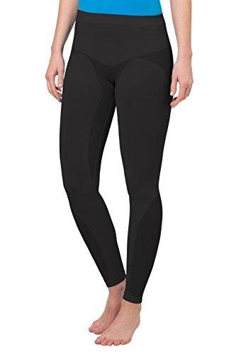 VAUDE 04135 Collant Long pour Femme sans Couture Light Noir Taille 42 cm