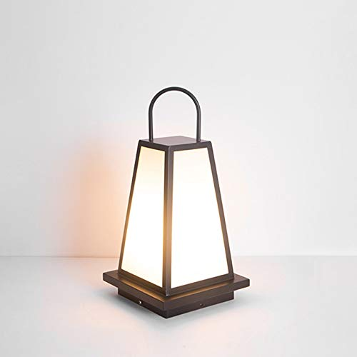 WEUROPESV Lámpara de césped al Aire Libre Impermeable estigma jardín Paisaje al Aire Libre hogar japonés Villa jardín lámpara de pie