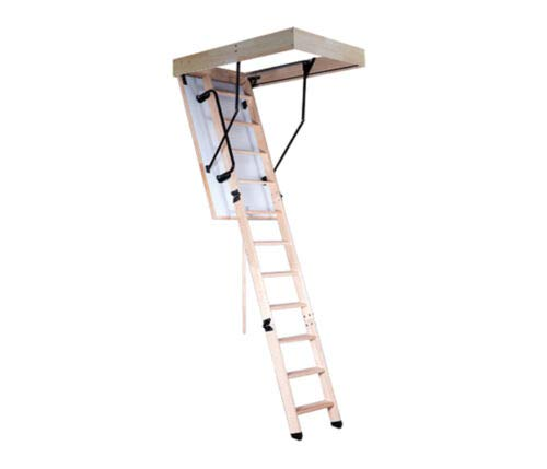 Bodentreppe EASYS Oman Thermo 110x70 Speichertreppe Treppe