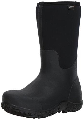 Bogs Men's Workman Work Rain Boots, Black, 13 D(M) US