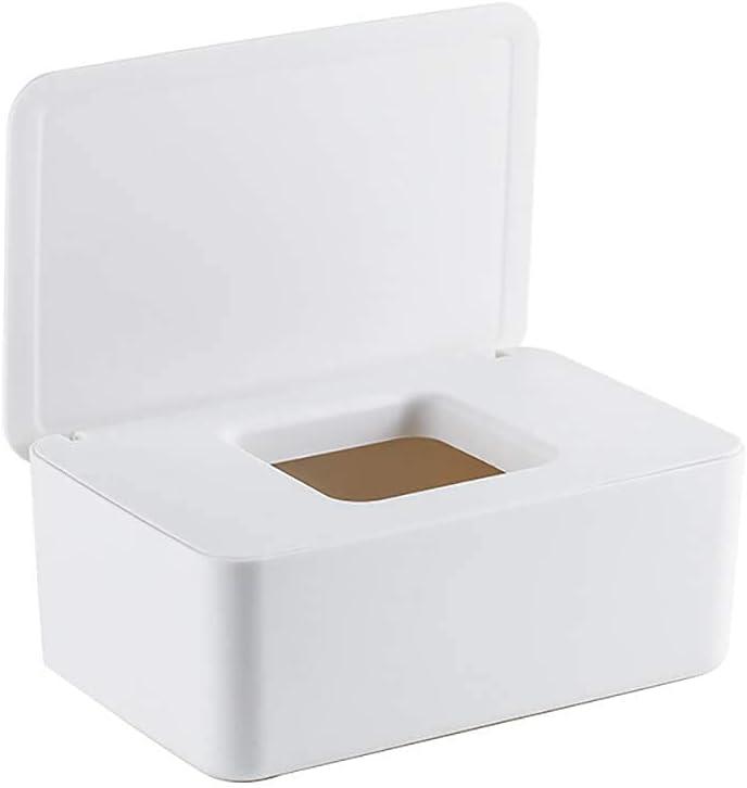 Xushan - Caja de toallitas húmedas, dispensador de toallitas húmedas, caja de toallitas para bebé