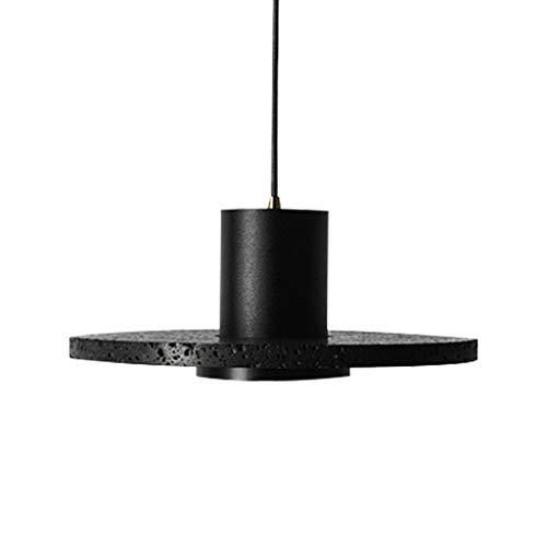 Pointhx Lámpara de techo LED de lujo con diseño de roca volcánica para decoración de aluminio, para escaleras, cafeterías, pasillos, restaurantes, cocinas, islas