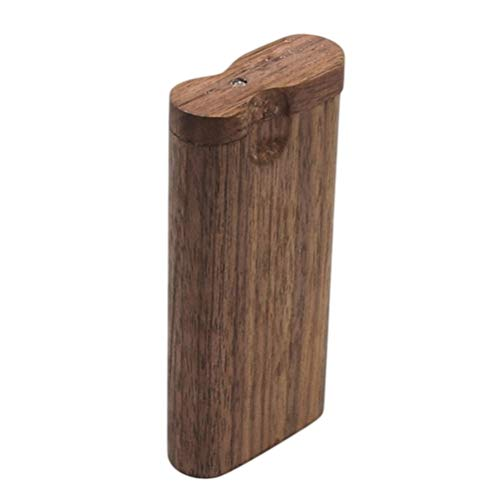LIOOBO Holz Zigarettenetui Holz Tabak Aufbewahrungsbox Zigarettenetui