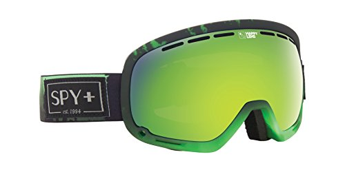 Spy Marshall Aurora Skibrille, Happy Green spec/Happy Lucid Silver, One Size