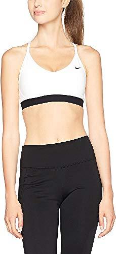 Nike W NK Favorites Bra Reggiseno Sportivo per Donna, Bianco (White/Black/Black), L