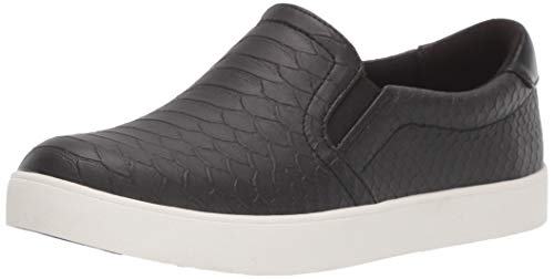 Dr. Scholl's Shoes womens Madison Fashion Sneaker, Black, 9.5 US