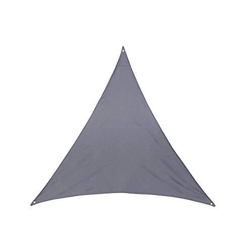 Toile solaire 4x4x4m Hespéride Anori gris