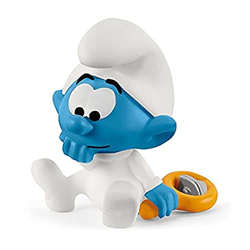 SCHLEICH 20830 Spielfigur - Baby Schlumpf (The Smurfs), Mix