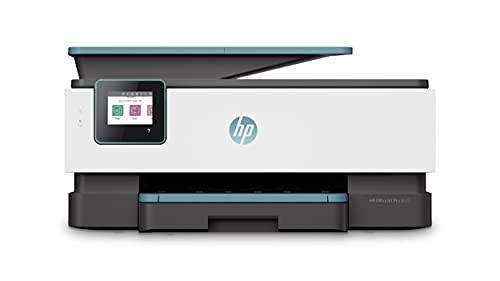 HP OfficeJet Pro 8025 Multifunktionsdrucker (HP Instant Ink, A4, Drucker, Scanner, Kopierer, Fax, WLAN, LAN, Duplex, HP ePrint, Airprint, mit 2 Probemonaten HP Instant Ink Inklusive) Oasis