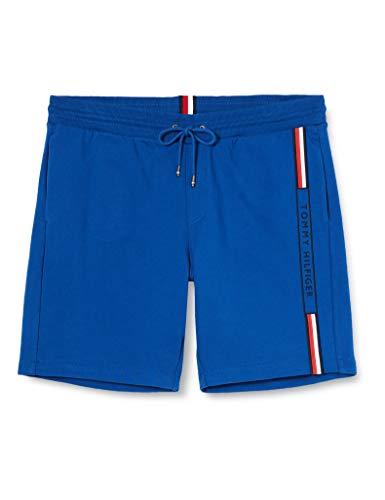 Tommy Hilfiger Basic Sweatshort Pantalones Deportivos, Cuarzo Azul, 41-44.5 para Hombre