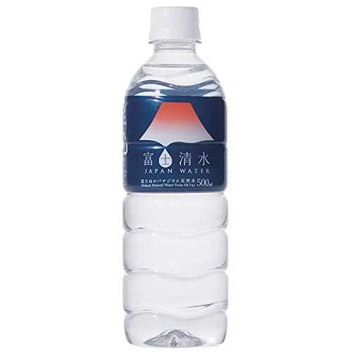 ミツウロコ 富士清水 JAPAN WATER 500ml×24本