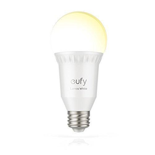 eufy Lumos Smart Bulb stimmbar, E27, 60W, weiß
