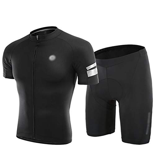 Maillot de Ciclismo Maillot De Ciclismo para Hombre, Camisetas De Ciclismo Transpirables...