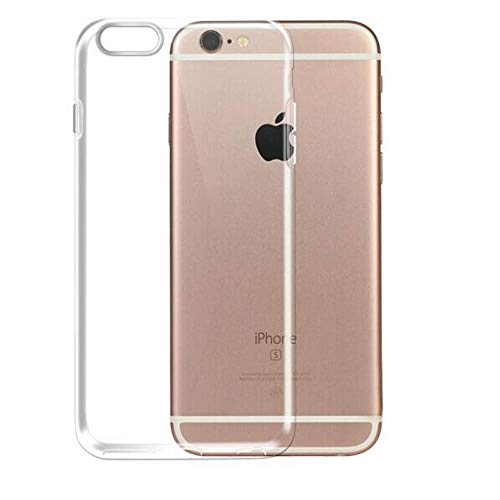 iPhone 6 6S Case Clear Silicone TPU Rubber Back Cover Ultra Thin Case Compatible for Apple iPhone 6 / iPhone 6s(4.7inch)