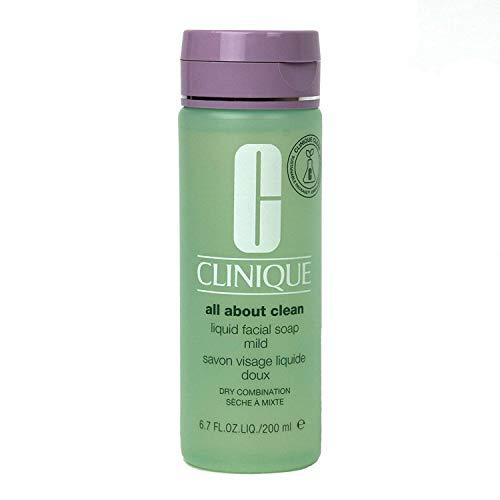 Clinique - Jabón Facial Líquido Suave, 200 ml
