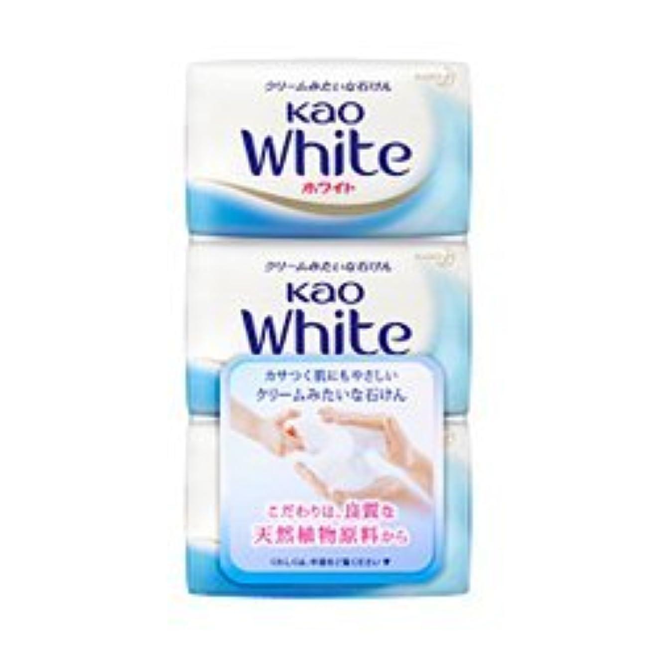 プランテーションミンチ担保【花王】花王ホワイト レギュラーサイズ (85g×3個) ×5個セット