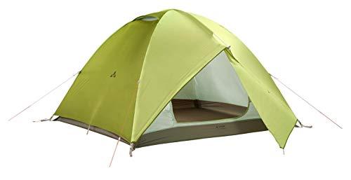 VAUDE 4-personen-zelt Campo Grande 3-4P, 3-4 personenzelt, extragroßes Zelt mit 2 Apsiden, chute green, one Size, 142254590
