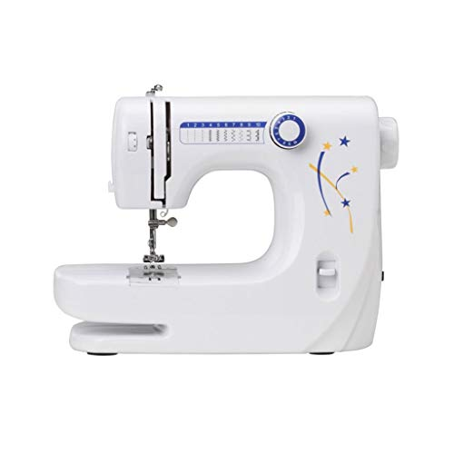 Naaimachine Quick Sewing Thread Stof Crafts Kit Tool 10-Stitch Achtersteek Upgrade Extension Voetpedaal Quick Repareren Beginner Huishoudelijke White
