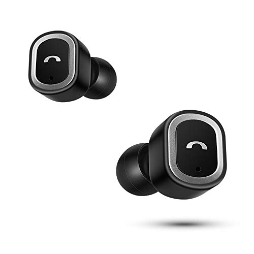 OPAKY Mini Twins Kabellose Bluetooth-Kopfhörer Stereo-Headset In-Ear-Ohrhörer mit Mikrofon, für iPhone, iPad, Samsung, Huawei,Tablet usw