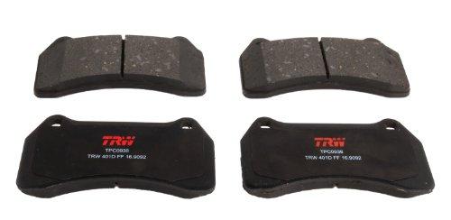 TRW TPC0938 Scheibenbremsbelagsatz, für Jaguar S-Type: 2003-2006 und andere Anwendungen, vorne