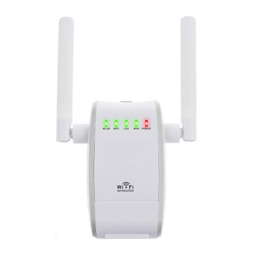 Mini WiFi Router, XDCDHM 300Mbps Multi-Function Mini Wireless-N WiFi Range Extender Signal Booster 802.11n/b/g Network Repeater/Router/AP with WPS