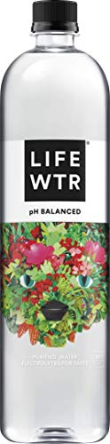 LIFEWTR, Premium Purified Water, pH Balanced with Electrolytes For Taste, , 33.8 Fl Oz (Pack of 6) - Packaging May Vary