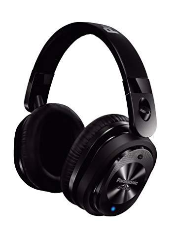 Panasonic RP-HC800E-K Kopfhörer mit aktiver Lärmkompensation (92 % Reduzierung der Außengeräusche, lange Akkukapazität) schwarz