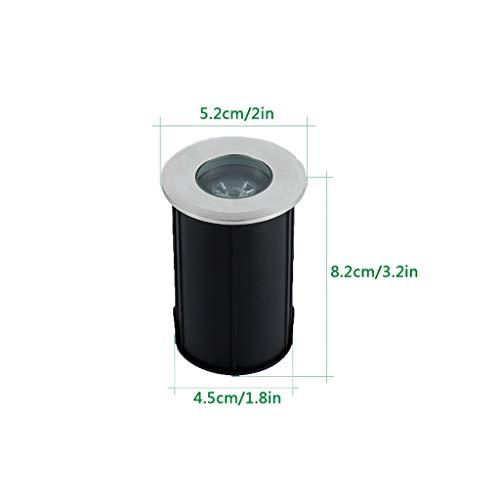Spot Encastrable Exterieur,Lumière Souterraine Intégré LED Projecteur De Plein Air Imperméable Lampadaire Lumière Sous L'eau (Couleur : Purple light-Moyen)