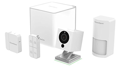 iSmartAlarm ISA2G Sistema di Sicurezza Domestico Wireless, Bianco