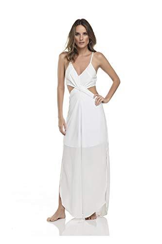 Vestido Longo Aruba, Rivanna, Feminino, Estampado, Médio