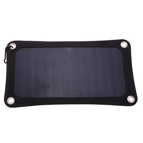 MJJEsports 5V 7W Portátil Panel Solar Cargador De Alimentación Del Panel De Carga Usb Para La Tableta Del Teléfono Móvil