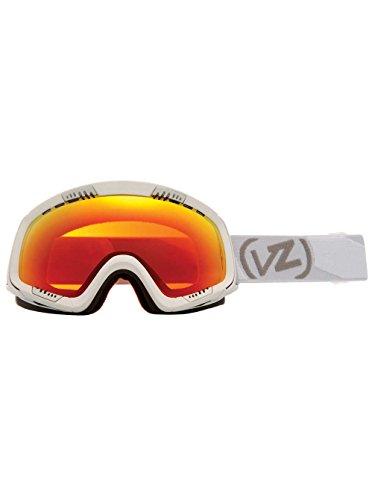 Masque Snowboard Vonzipper Feenom - White Satin / Fire Chrome