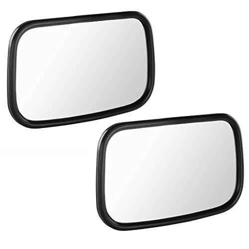 Spiegel-Set | links & rechts | 260 x 160 mm | für Deutz | Stange Ø 13-16 mm | Spiegel | Seitenspiegel | universal | Trecker | Traktor | Schlepper | Modulspiegel