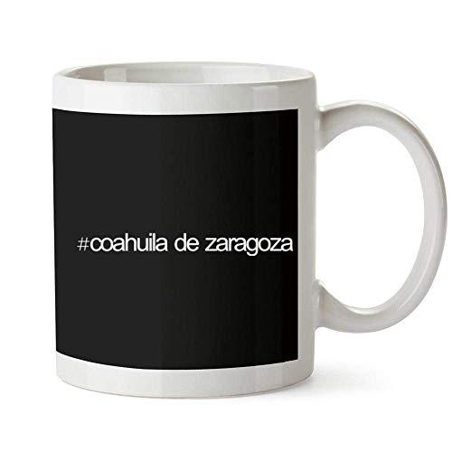Hashtag Coahuila De Zaragoza Bold Text Mug 11 Onzas