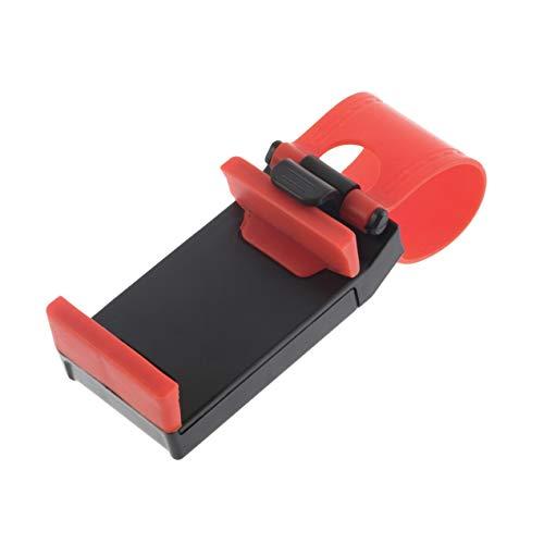 DBSUFV Soporte para cámara de teléfono con Clip para Volante de Coche para iPhone, Soporte Universal ABS, Soporte para teléfono móvil, Accesorios de Montaje
