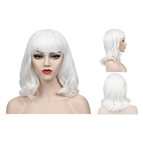 - Weiße Kostüm Perücken