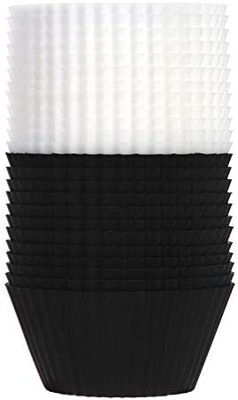 SARTNP Silicone Cupcake Baking Cups 24 Pack Reusable Standard Size Heavy Duty Cupcake Liners product image