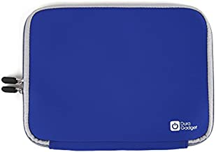 DURAGADGET Blue 10-inch Tablet Case in Neoprene with Wrap-Around Dual Zip Closures for The Kurio Tablet Infantil Smart