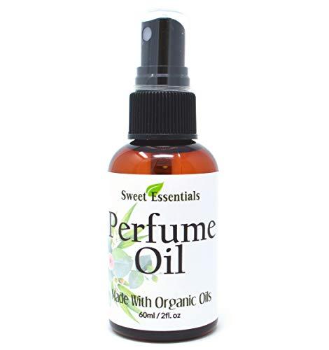Jasmine Vanilla - Fragrance/Perfume Oil - 2oz Made with Organic Oils - Spray on Perfume Oil - Alcohol & Preservative Free