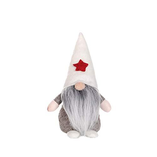 langchao Muñeca sin Rostro de Navidad y año Nuevo decoración de muñecas muñeca de Dibujos Animados para niños