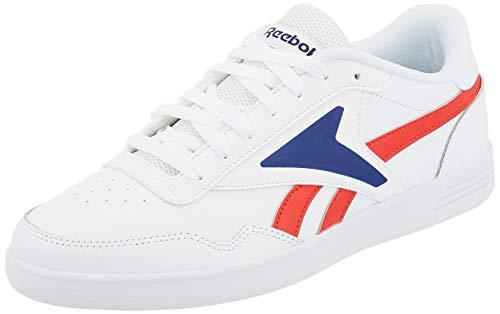 Reebok Royal TECHQUE T, Scarpe da Tennis Uomo, Bianco/Insred/Deecob, 39 EU