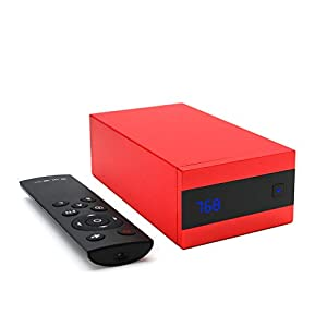 S.M.S.L Sanskrit 10th MKII AK4493 HIFI 768KHz 32Bit XMOS USB Native DSD256 Decoder (Red)