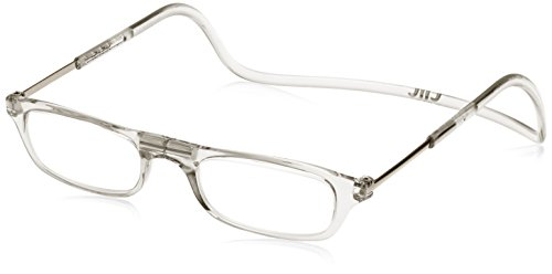 [クリックリーダー] 老眼鏡 Clic Readers メンズ クリア +3.50-(FREEサイズ)