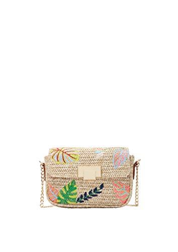 s.Oliver Damen Shoulder Bag in Bast-Optik khaki/oliv placed 1