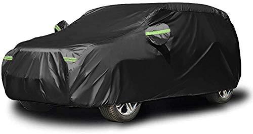 NEVERLAND Waterproof Heavy Duty ATV Cover for Polaris Sportsman Yamaha Grizzly Honda FourTrax Kawasaki KFX Wheel Car Black 82.68x47.24 x 45.28 inch