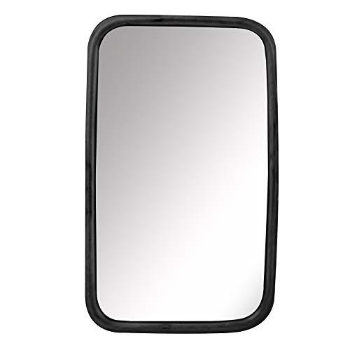 StickandShine - Specchietto universale per furgoni, autocarri o autobus, con supporto flessibile, 30 x18 cm