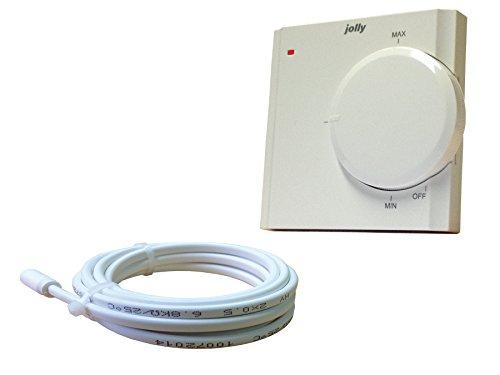 Jollytherm 00131 Rapid Terraheat Thermostat standard für elektrische Fußbodenheizungen