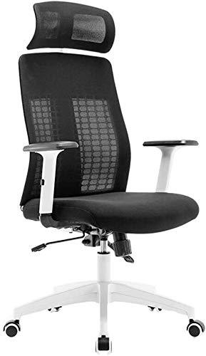 GAOTTINGSD Chaise de Bureau en Maille Respirante Computer Bürostühle Spiel Stühle Bürostühle mit Armlehnen Spiel Stühle Bürostühle mit Armlehnen Computer Stuhl Home Office Chair 360 ° drehbarer Sitz